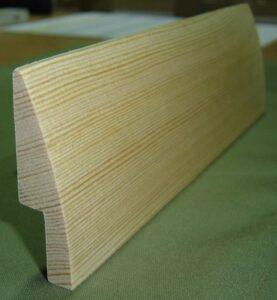 Listwa przypodłogowa drewniana