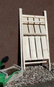 Regalik składany drewniany